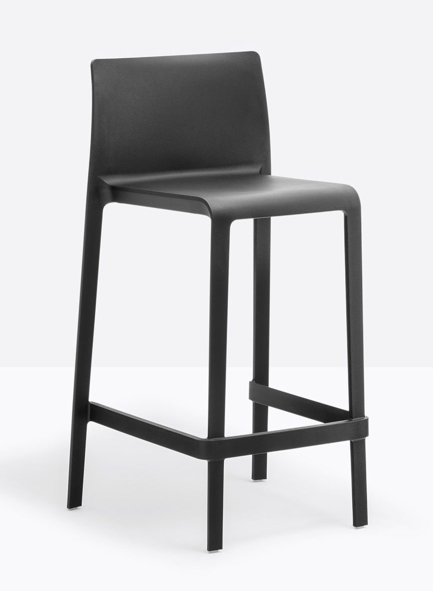 כסא בר עם משענת