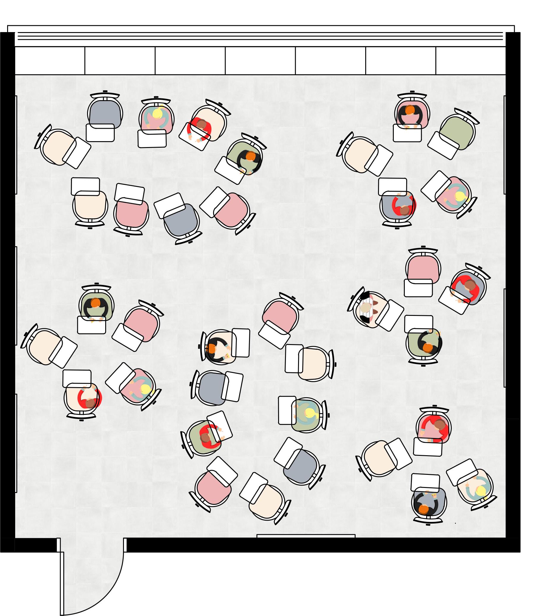 מערכת כיתות מאופינות - גמישה