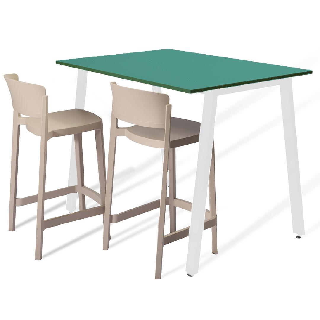 שולחן בר טורקיז
