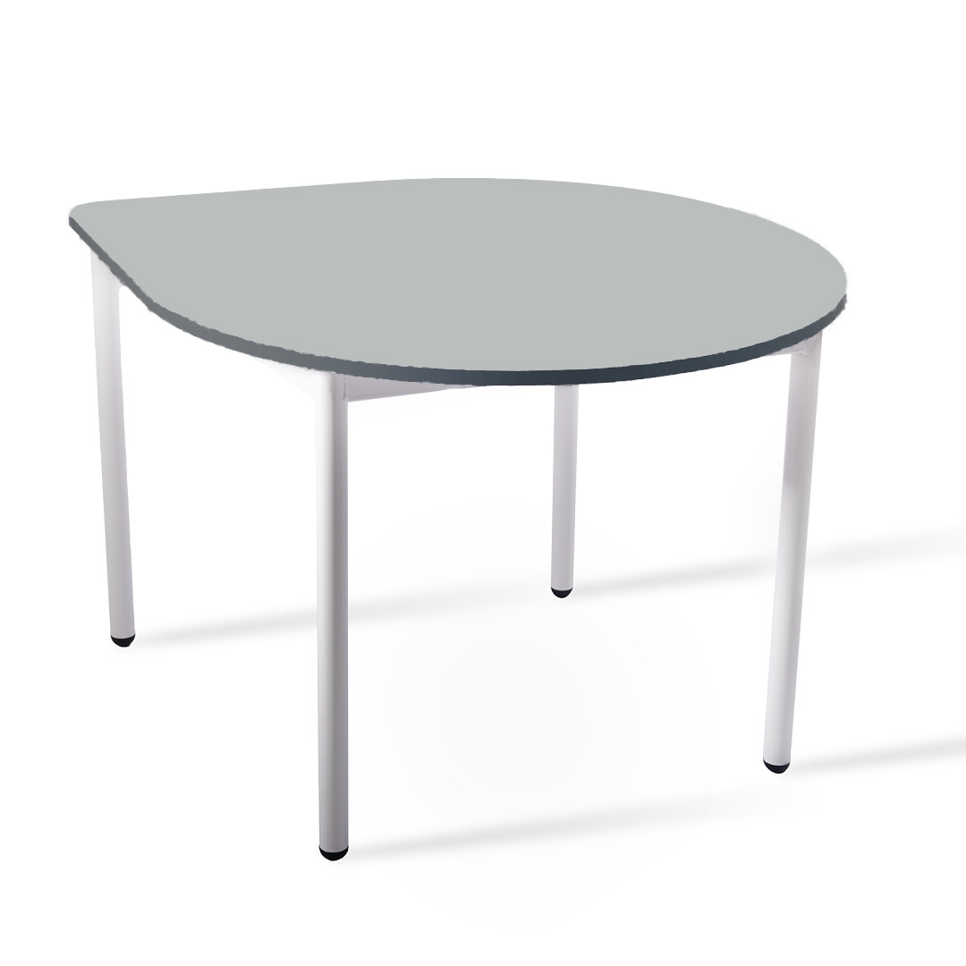 שולחן טיפה אפור