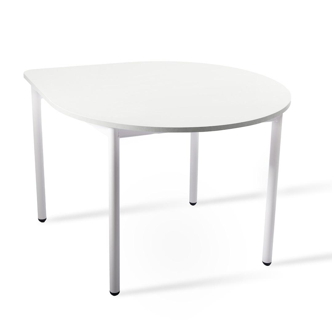 שולחן טיפה לבן