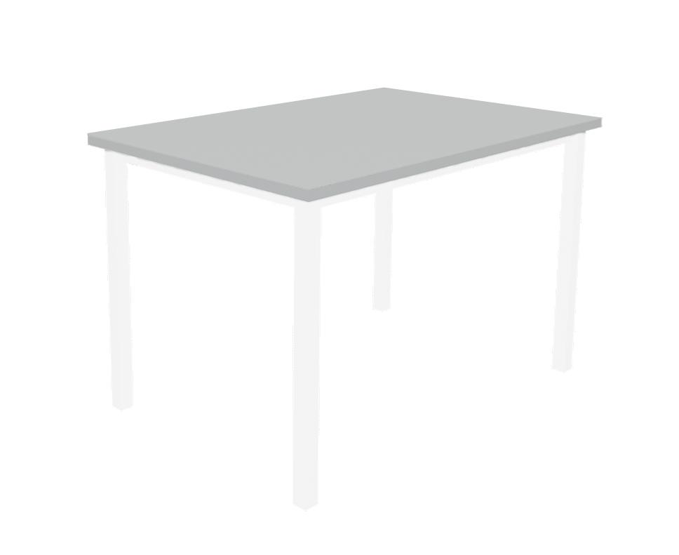 שולחן מלבן אפור