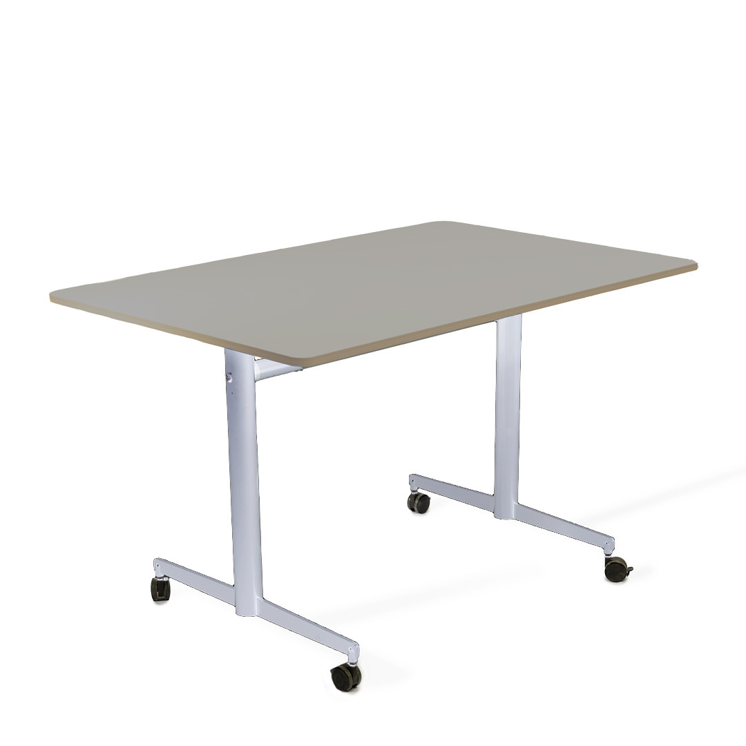 שולחן מתקפל אפור