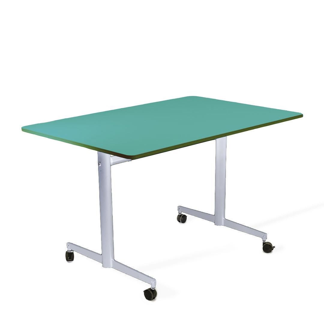שולחן מתקפל טורקיז