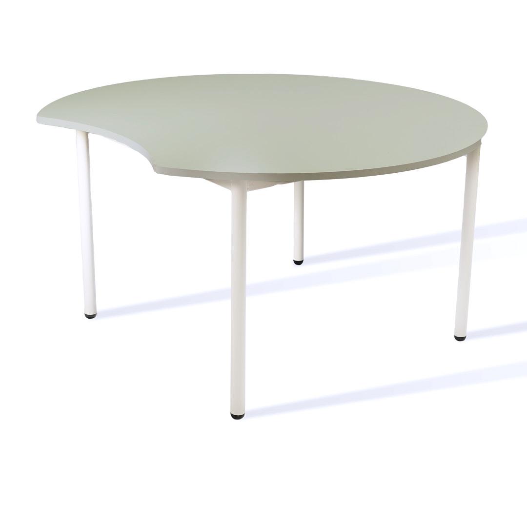 שולחן עוגיה אפור