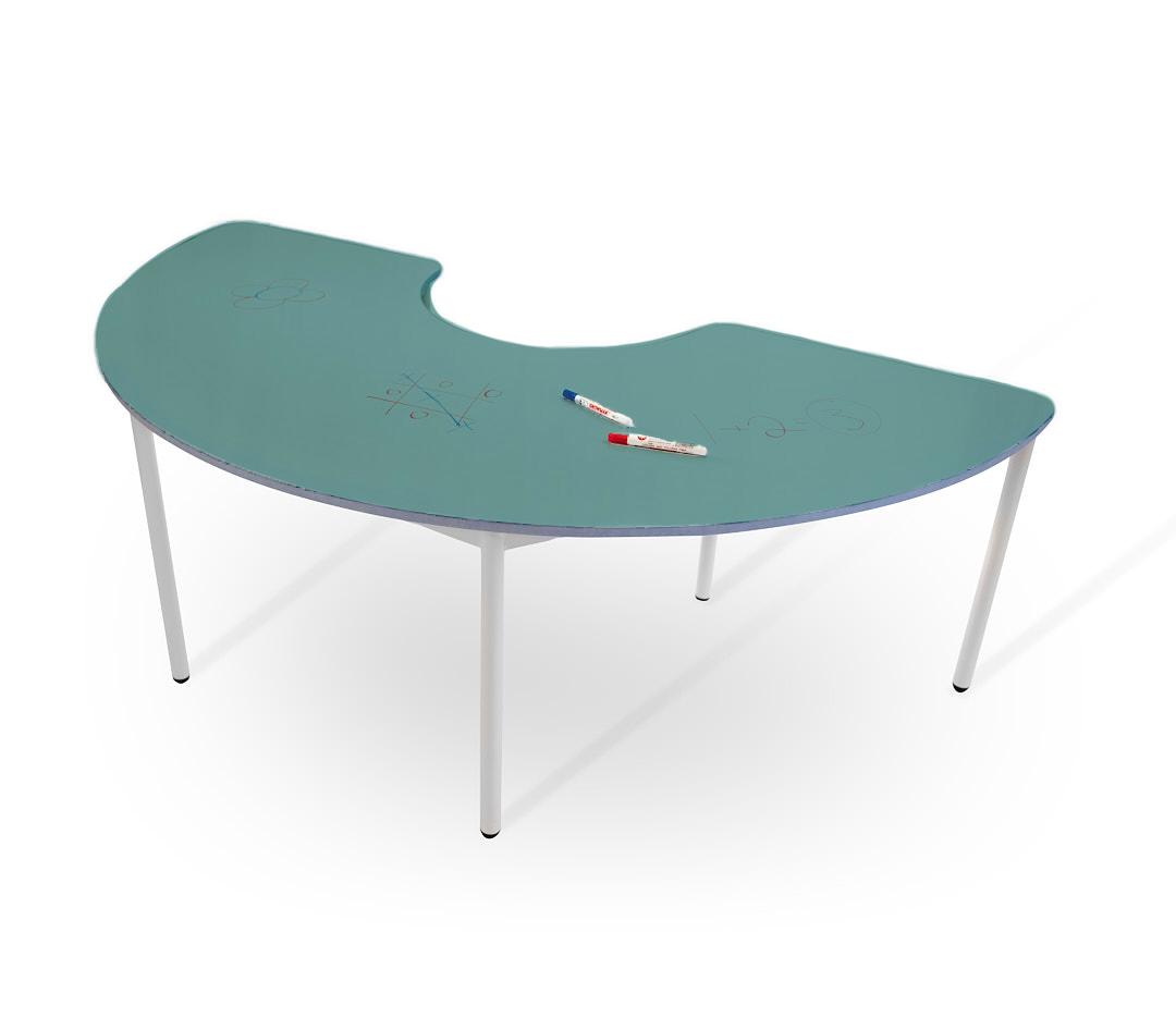 שולחן קשת טורקיז