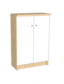ארונית 2 דלתות עץ
