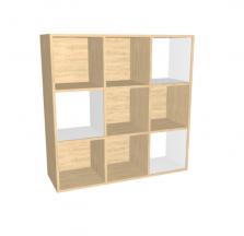כוורת 9 תאים עץ