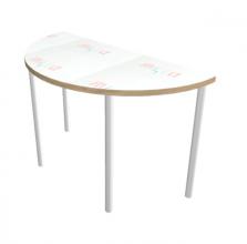 שולחן חצי עיגול מחיק למורה