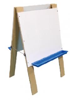 כן ציור לילדים . צד אחד מחיק צד שני לוח גיר. דגם MÅLA של איקאה או ש